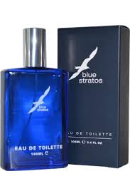 Blue Stratos Eau de Toilette 50 ml + gel na hol. 25 ml