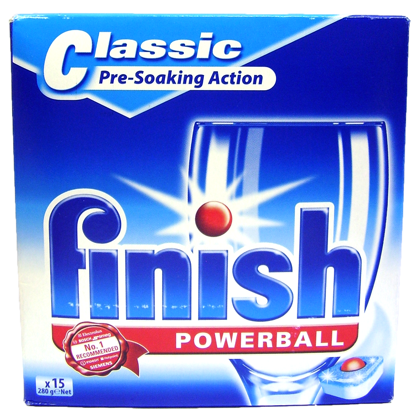 Finish Powerball Classic tabs 15 ks