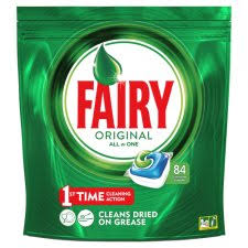 Fairy original All in1 tablety 84 ks
